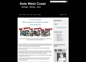 ketewestcoast.peoplesnetworknz.info