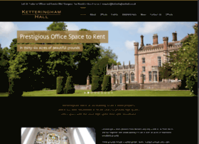 ketteringhamhall.co.uk