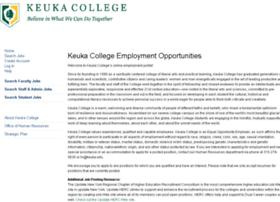 keuka.peopleadmin.com