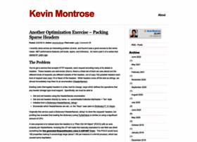 kevinmontrose.com