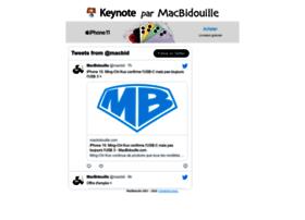 keynote.macbidouille.com