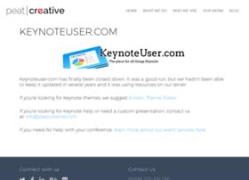 keynoteuser.com
