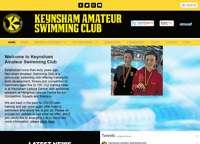 keynshamswimmingclub.co.uk
