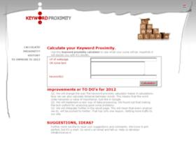 keyword-proximity.com