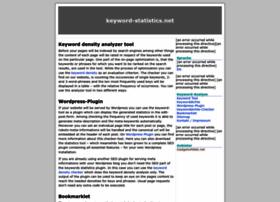 keyword-statistics.net