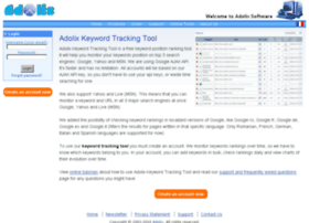 keyword-tracking-tool.adolix.com