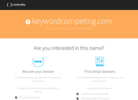 keywordcompeting.com