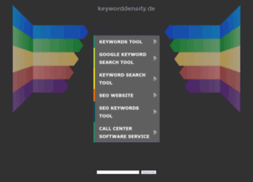 keyworddensity.de