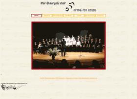 kfar-shmaryahu-choir.com