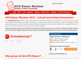 kfz-steuer-rechner.com