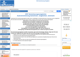 kfz-versicherungsvergleich.kfz-auskunft.de