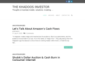 khadoosinvestor.com