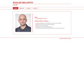 khaledbelghith.info