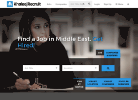 khaleejrecruit.com