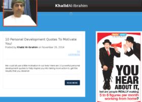 khalid-alibrahim.com