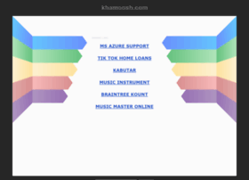 khamoosh.com