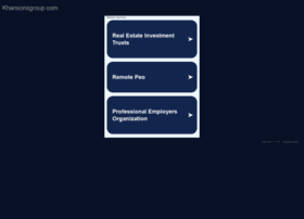 khansonsgroup.com