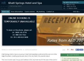 khatt-springs-hotel-spa.h-rez.com