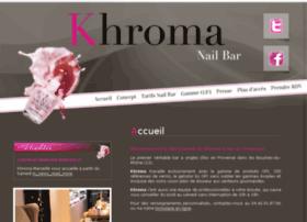 khroma-nailbar.com