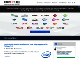 khronos.org