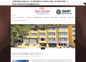 khushbooresorts.com