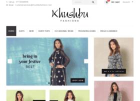 khushbufashions.com