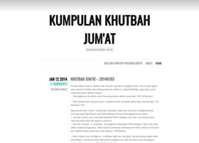 khutbahjumat.wordpress.com
