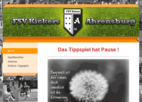 kickers-ahrensburg.de