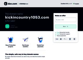 kickincountry1053.com