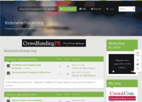 kickstarterforum-or.crowdcrux.com