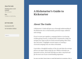 kickstarterguide.com