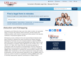 kidnapping.uslegal.com