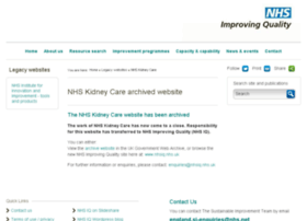 kidneycare.nhs.uk