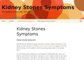 kidneystonessymptoms.org