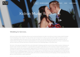 kidronmusicweddings.com