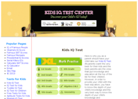 kids-iq-tests.com