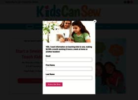 kidscansew.com