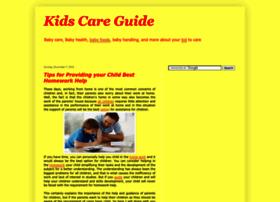 Kidscareguide.blogspot.com
