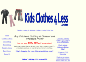 kidsclothes4less.com