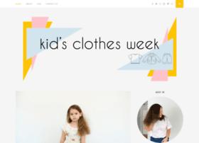 kidsclothesweek.com