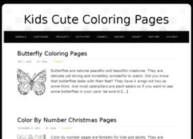 kidscutecoloringpages.com