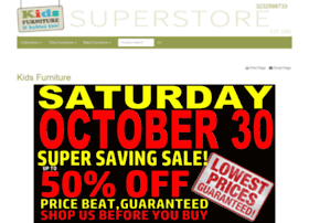 kidsfurnituresuperstore.us