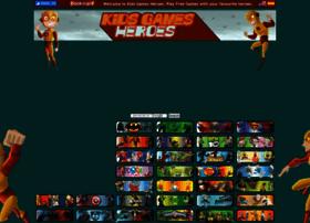 kidsgamesheroes.com