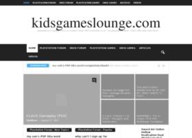 kidsgameslounge.com