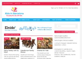 kidsinbarcelona.com