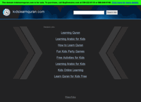 kidslearnquran.com