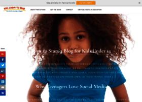 kidslearntoblog.com