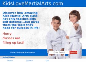 kidslovemartialartsflorenceky.com