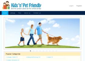kidsnpetfriendly.com