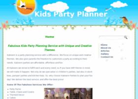 kidspartyplanner.co.za